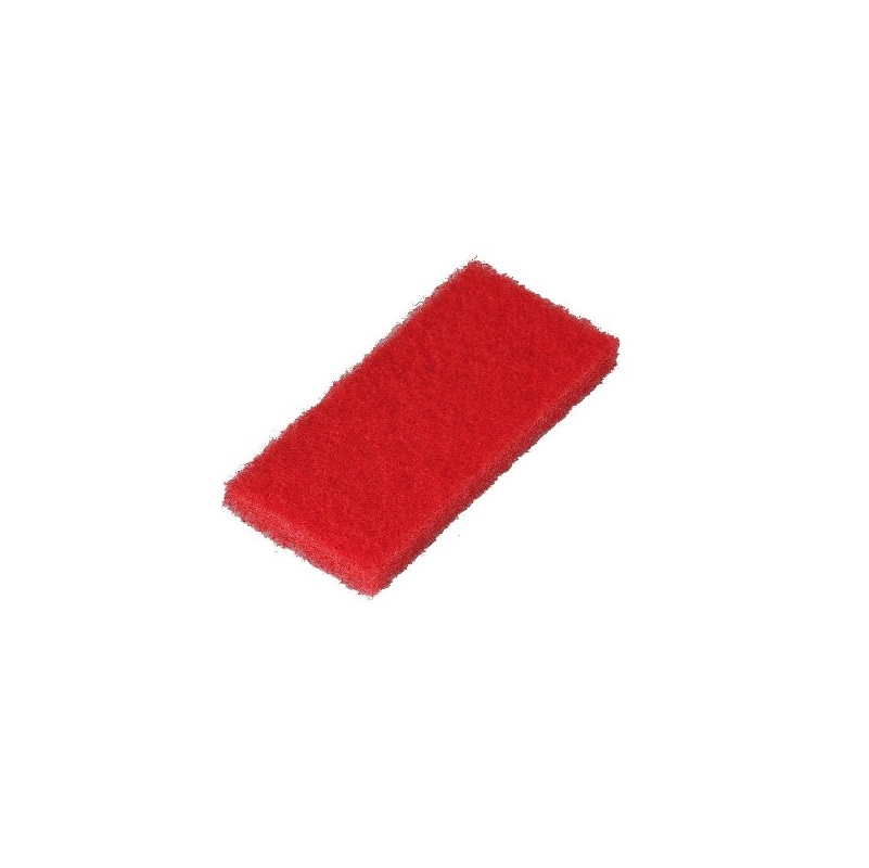 Pad malý obdĺžnikový červený